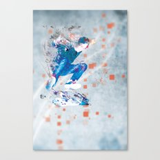 Ride North Canvas Print