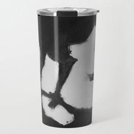 Shadow - Black & White Travel Mug