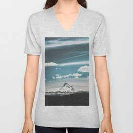 Mountain Morning - Nature Photography Unisex V-Neck