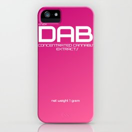 Dab Extract iPhone Case