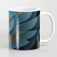 wings Mugs featuring Wings by Fringeman