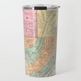 Vintage Map of Cincinnati OH (1872) Travel Mug