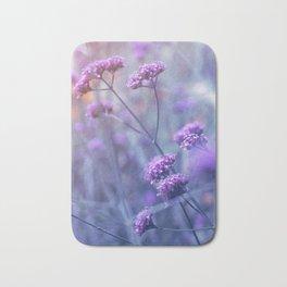 in purple mood Bath Mat