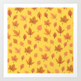 Hi Autumn Art Print