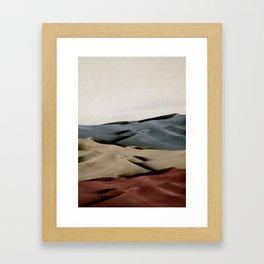 dunes 2 Framed Art Print