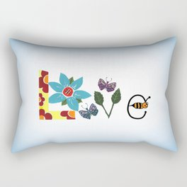 Nature Love Rectangular Pillow