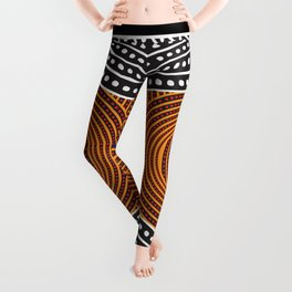 Modern Aboriginal Leggings