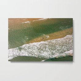 Me, myself and the Sea Metal Print