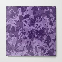 farba (violet) Metal Print