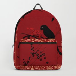 "A series of "" Favorite pillow ""Parrots 2 Backpack"