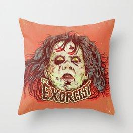 Exorcist Throw Pillow