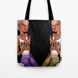 put your lighters up Tote Bag