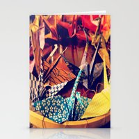 crane Stationery Cards featuring Crane  by Francessca.n.Angel