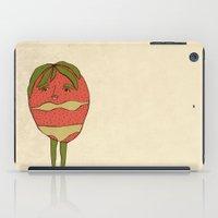 bikini iPad Cases featuring Bikini-strawberry by MSarte