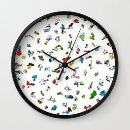 LOVE LOVE LOVE Wall Clock