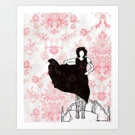The Riviera Art Print
