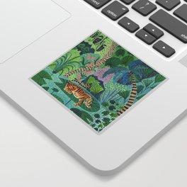 Jungle Tiger Sticker