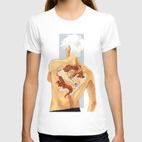 kakashi T-shirts featuring Red Dragon by xtcetera