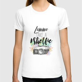 Lemme Take a #Shelfie T-shirt