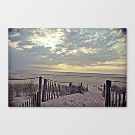 Beach Morning Canvas Print