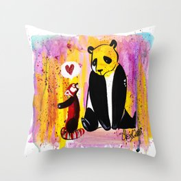Borther from another mother Throw Pillow