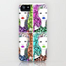 Rainbow Riot Girlz. Quadrupletz.  iPhone Case