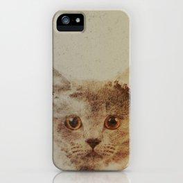 Cats: Portrait British Shorthair iPhone Case