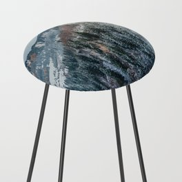 Forest - Bavarian alps Counter Stool