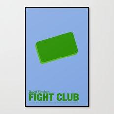 Fight Club | Minimalist Movie Posters Canvas Print