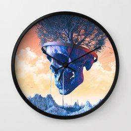 Chlorophyll Wall Clock