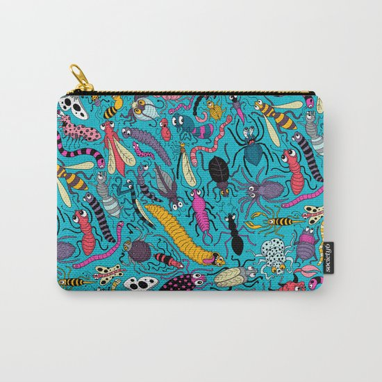 Bug Pattern Carry-All Pouch
