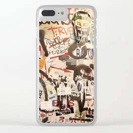 Tickets Sold Here Clear iPhone Case