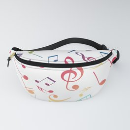 Musical Notes 5 Fanny Pack