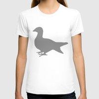 pigeon T-shirts featuring Pigeon by Giorgio Smiroldo - giorgiosmiroldo.com