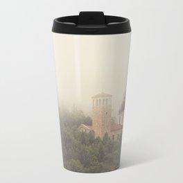 Fog Over The Shrine Travel Mug