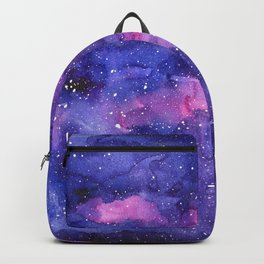 Galaxy Pattern Watercolor Backpack