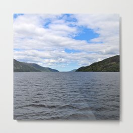 The Great Loch Ness Metal Print