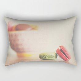 a macaron still life ... Rectangular Pillow