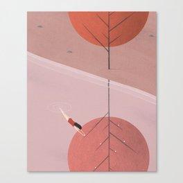 New Way Canvas Print