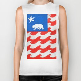 CA 4th of July Biker Tank