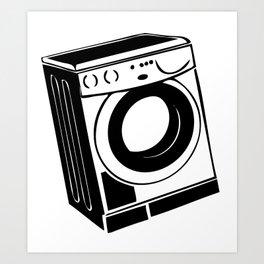 Washing machine Art Print