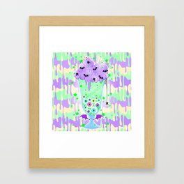 Witchy Brew Framed Art Print