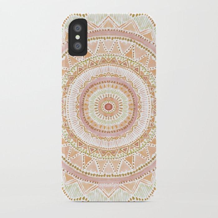 new style 49680 5d879 BIG LOVE Rose Gold Mandala iPhone Case by barbraignatiev