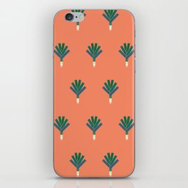 Vegetable: Leek iPhone Skin