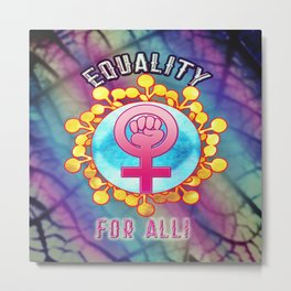 Equality For All Metal Print