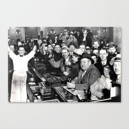 The Night Prohibition Ended Canvas Print