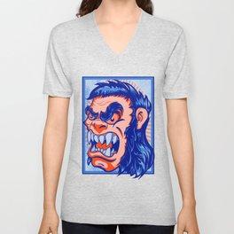 The Bigfoot Gorilla Unisex V-Neck