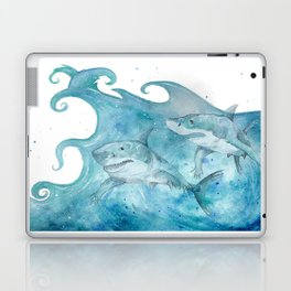 What If... Sharks had arms? Laptop & iPad Skin