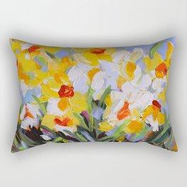 Daffodil Tangle Rectangular Pillow