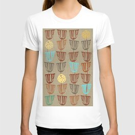 Pods and Seeds 2 on Linen T-shirt